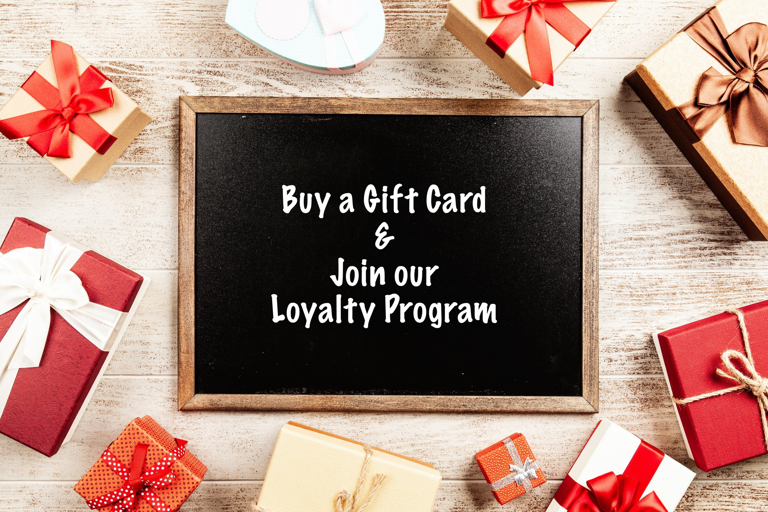 DIGITAL GIFT CARDS - ANY INCREMENT YOU WANT! REDEEM ONLINE!