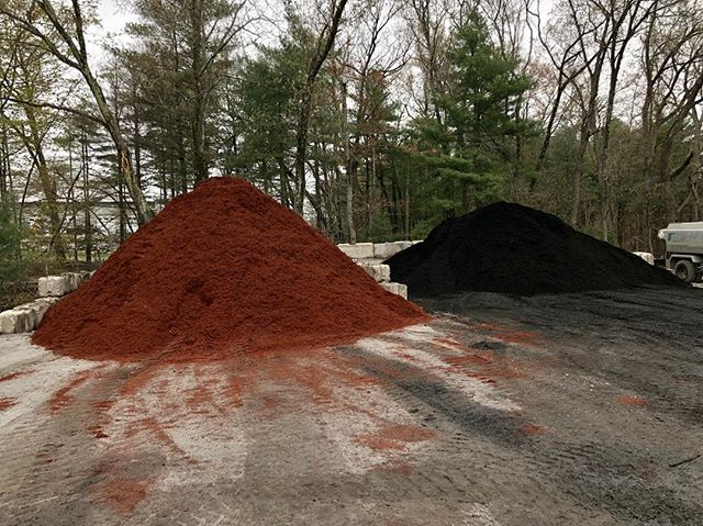 Red, Brown, and Black mulch now available at our recycling yard. Check out our website for details!