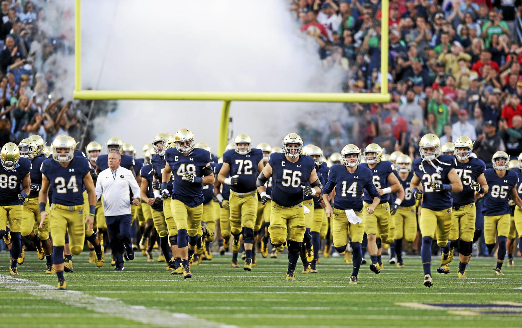 Nd Football Schedule 2020.Nd 2019 Football Schedule 2020 Notre Dame Football Schedule