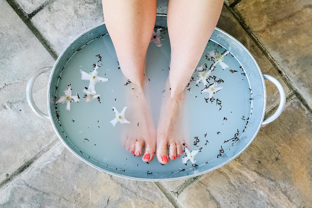 """"""" This was my first time experiencing Reflexology. Becky was welcoming and professional. I found the treatment relaxing and therapeutic. """" - - Kate Friday -"""