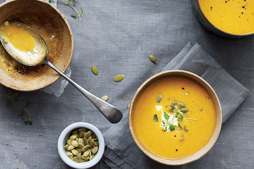 Style at home | RECIPE: PUMPKIN SOUP