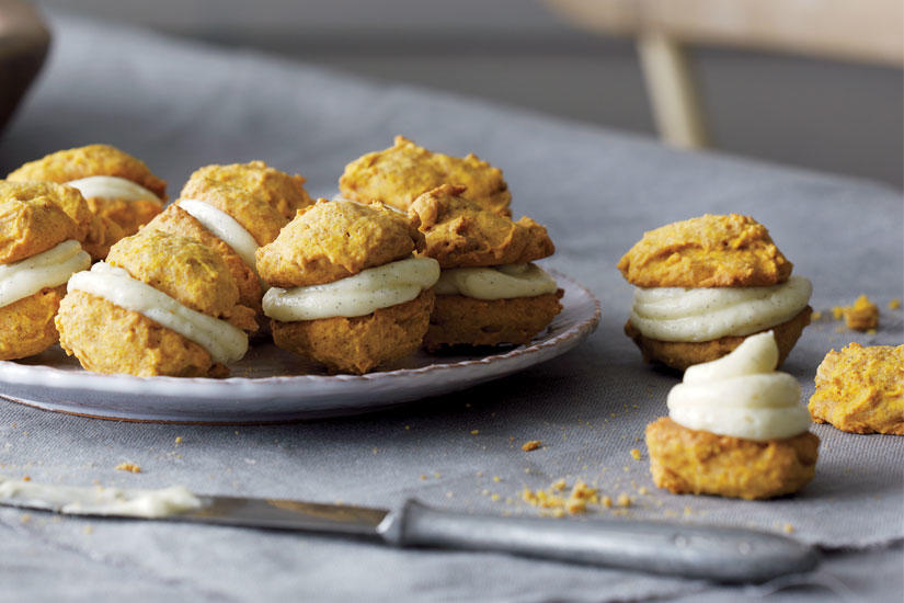 Style at home | RECIPE: PUMPKIN AND CREAM CHEESE SANDWICH COOKIES