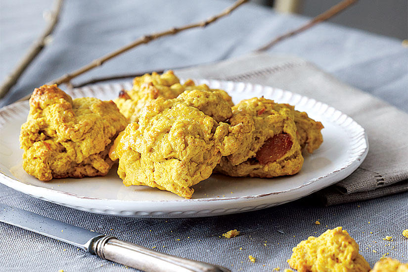 Style at home | RECIPE: PUMPKIN ORANGE SCONES