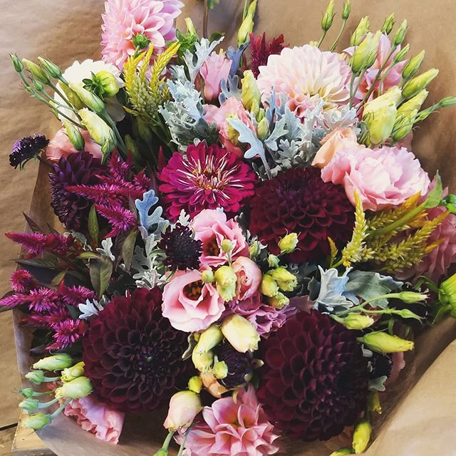 An extra large bouquet ordered to cheer up a friend!