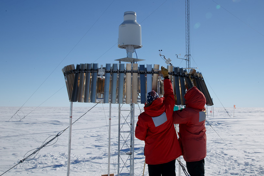 Quantifying Snowfall - Exactly How Much Snow Falls Over Antarctica, And How Much Is Just Blowing In The Wind?