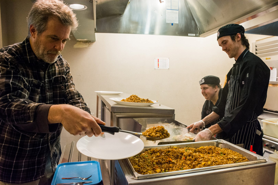 Podcast: Feeding McMurdo - How the Galley Dishes Up Hundreds of Meals for Hungry Researchers and Support Staff Every Day