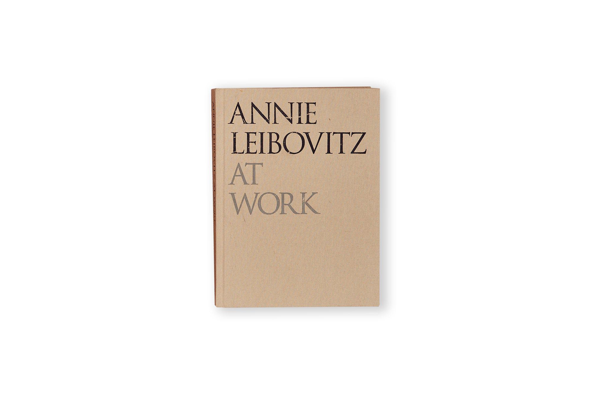AT WORK, annie leibovitz.