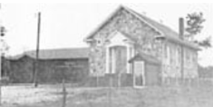 The church added an educational wing in 1975. - Photo by Ray Watson, courtesy of the Shiloh Museum of Ozatk History/Ray Watson collection (5-85-325-1828