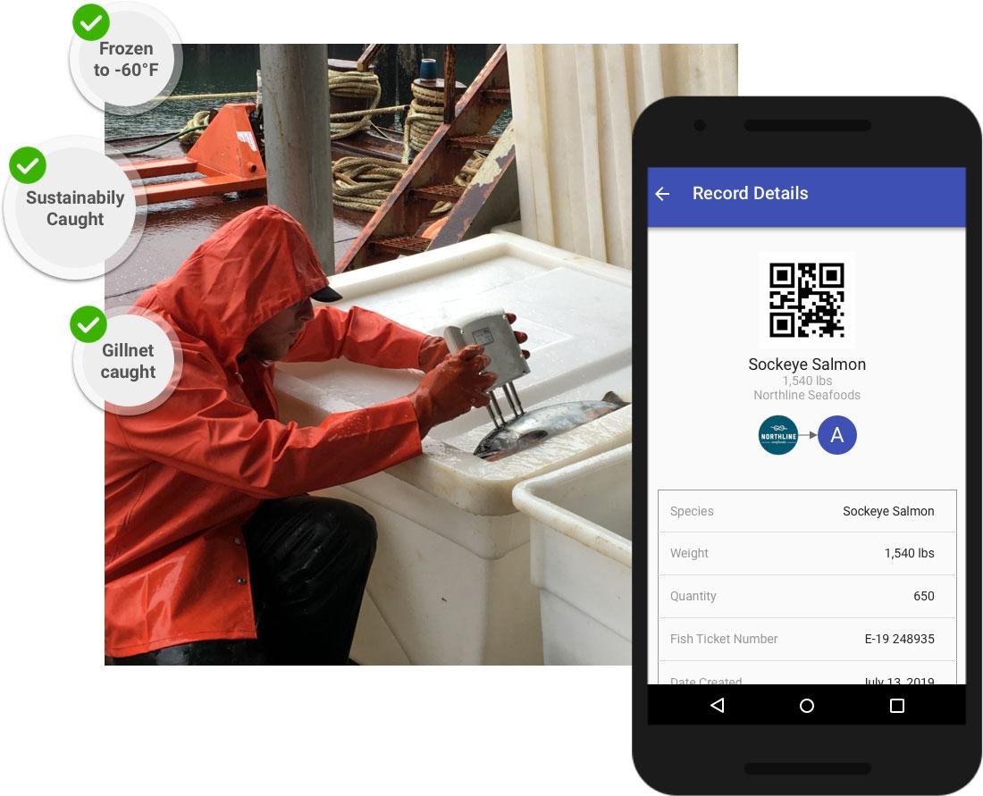 Capture IoT sensor data on the blockchain
