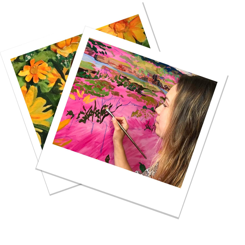 Anisa Asakawa Contemporary Botanical Landscape and Portrait Progress Polaroids 2.jpg