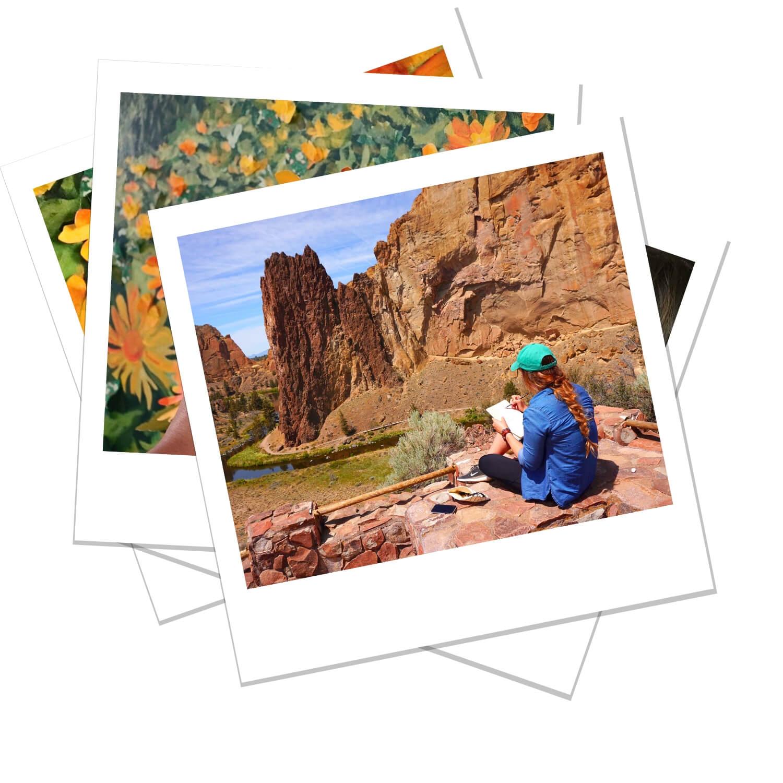 Anisa Asakawa Contemporary Botanical Landscape and Portrait Progress Polaroids 4.jpg