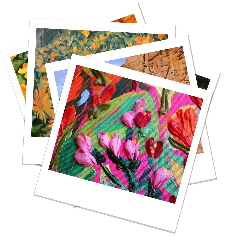 Anisa Asakawa Contemporary Botanical Landscape and Portrait Progress Polaroids 5.jpg