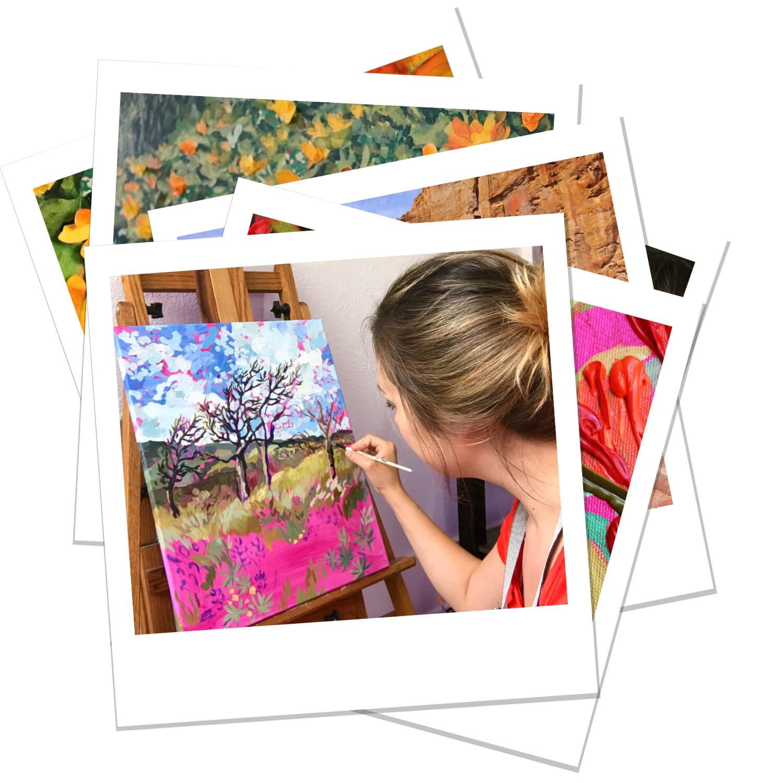 Anisa Asakawa Contemporary Botanical Landscape and Portrait Progress Polaroids 6.jpg