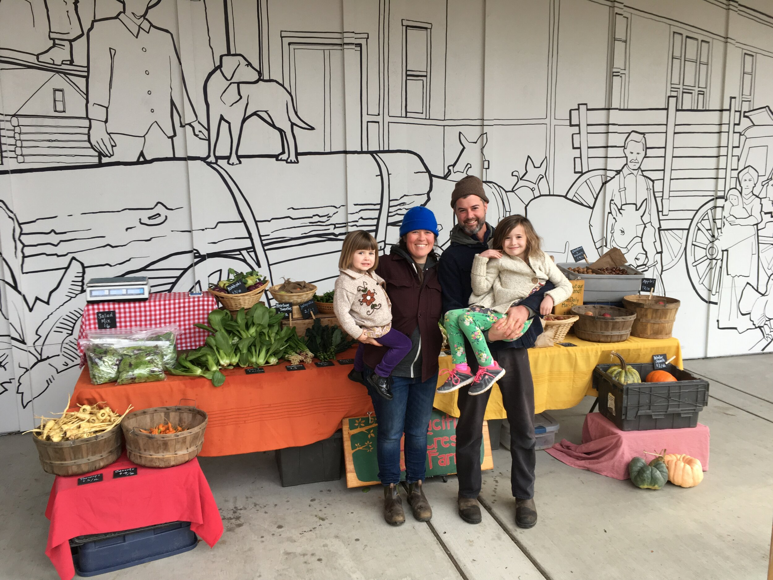 VIGA - Our mission: To promote farming, access to healthy food, and a sustainable agricultural economy on Vashon Island through education, advocacy, and a vibrant farmers market.