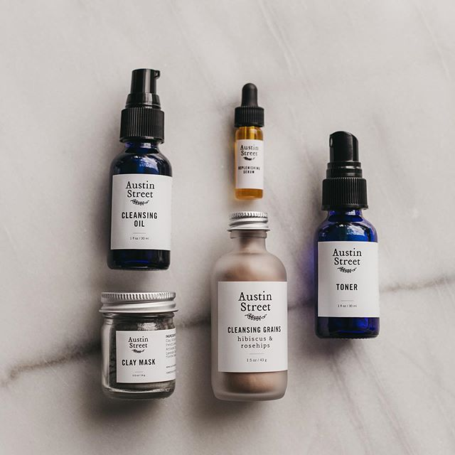 To celebrate our website relaunch, we're gifting an Essentials Facial Kit to one winner and a friend! Our Essentials Facial Kit is a mini set of our signature five-piece skincare collection and includes a sample size: •Cleansing Oil •Toner •Replenishing Serum or Balancing Serum (your choice!) •Cleansing Grains •Clay Mask  This beautiful set is a simple way to dip your toes into a natural skincare ritual or sample our facial care favorites!  To enter:  1) Follow @austinstskincare 2) Like this photo 3) Leave a comment tagging the friend you'd share with 4) Share in your stories and tag @austinstskincare for 5 extra entries  That's it! Giveaway ends on Sunday 9/22 at midnight (CST) and the winner will be announced Monday. Open to participants 18 and older, U.S. residents only. Not sponsored by or affiliated with Instagram. Must be following to win. Good luck! 📷: @jillian_zamora_photo