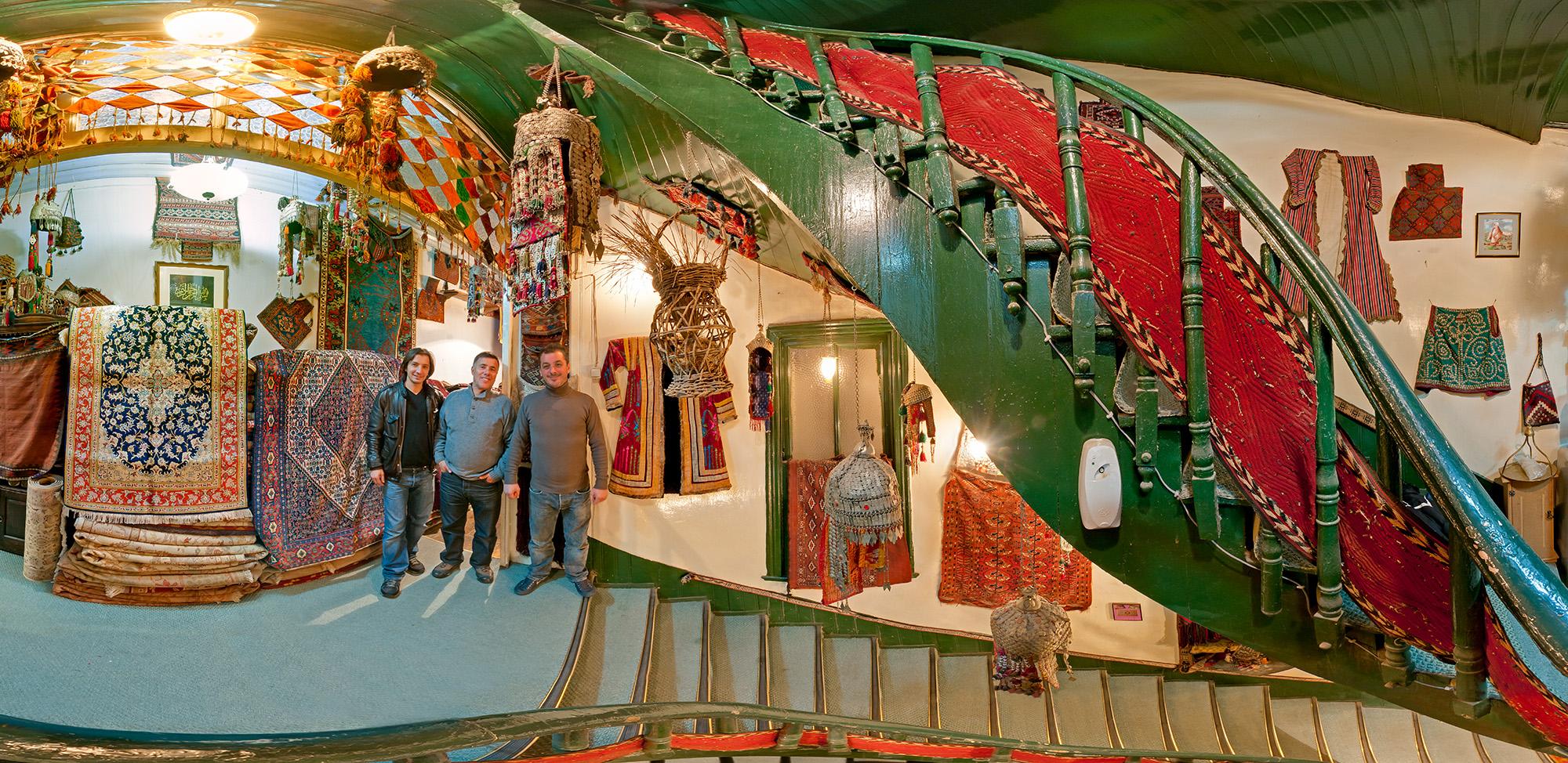 Istanbul Rug Merchants, Turkey, 2011