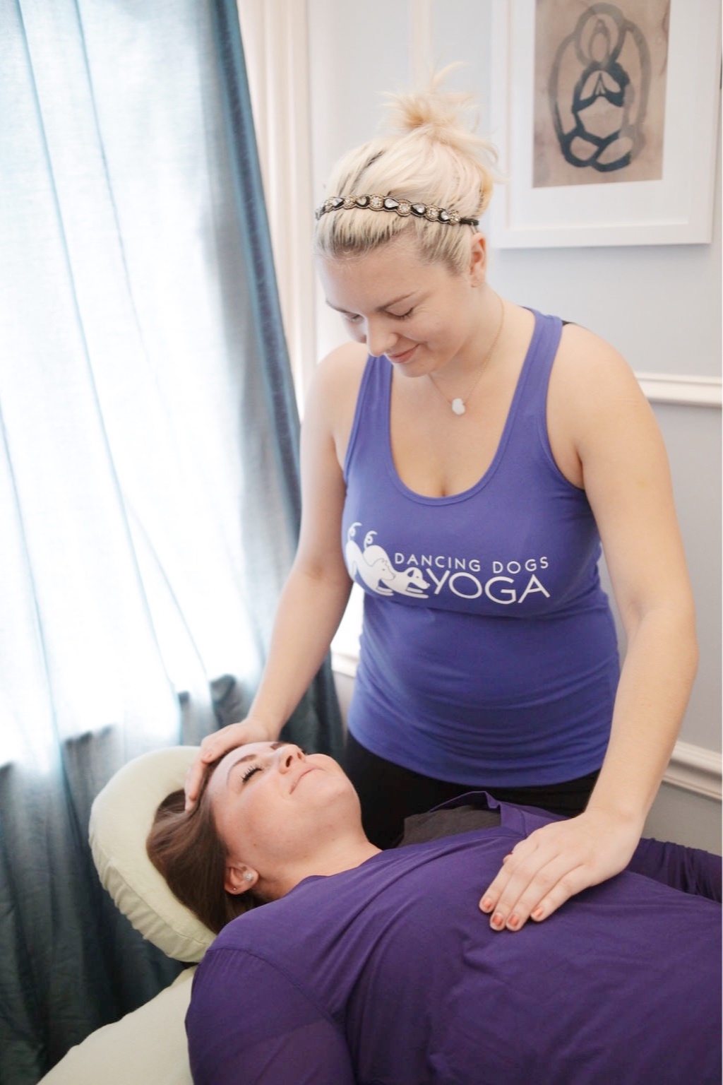 We have two amazing reiki masters, Julianna and Morgan