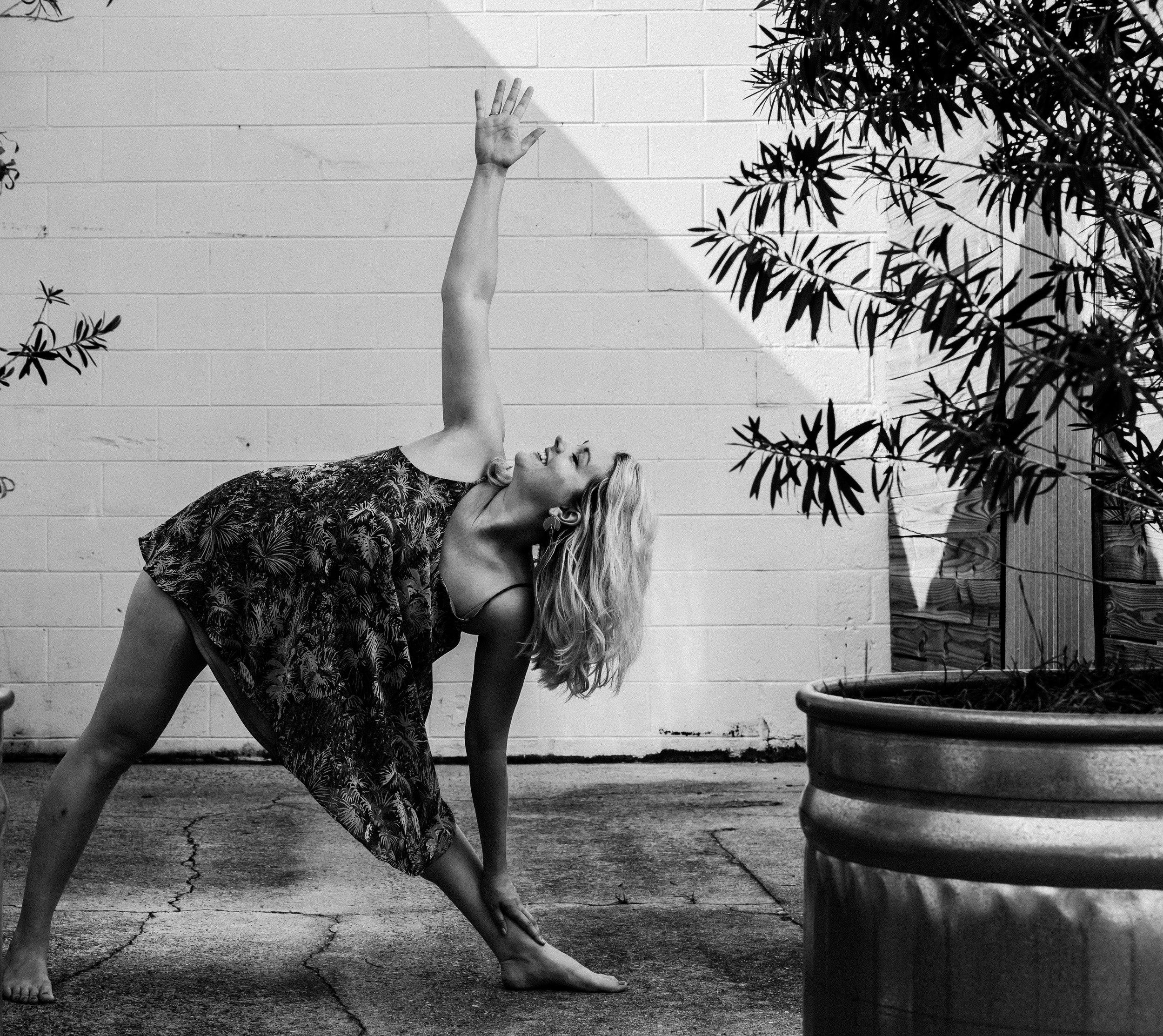 Julianna Delgado is our 200 hour certified yoga teacher