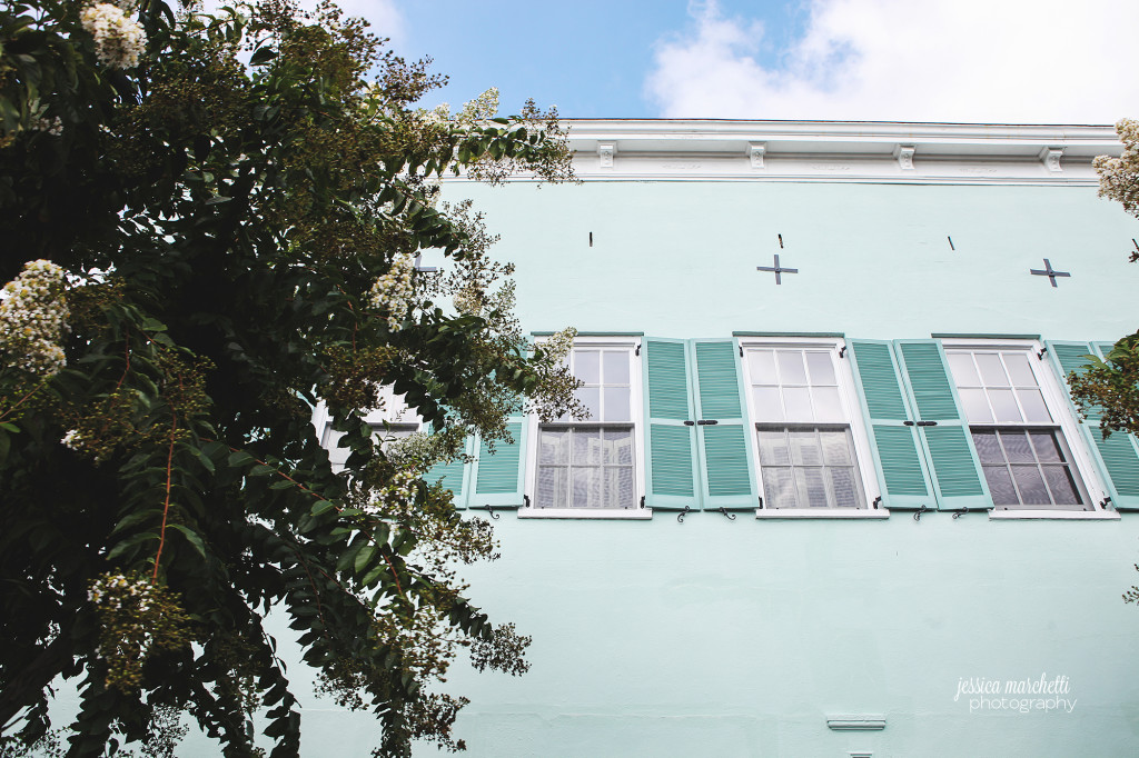 Charleston Artwork Rainbow Row Photography