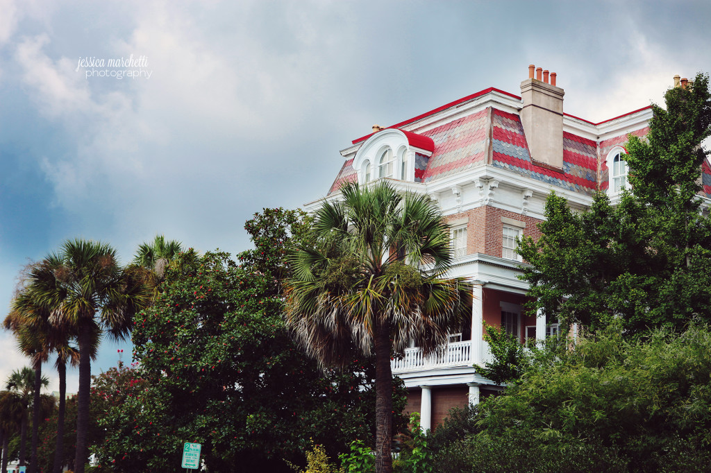 Historic Charleston Houses Photography