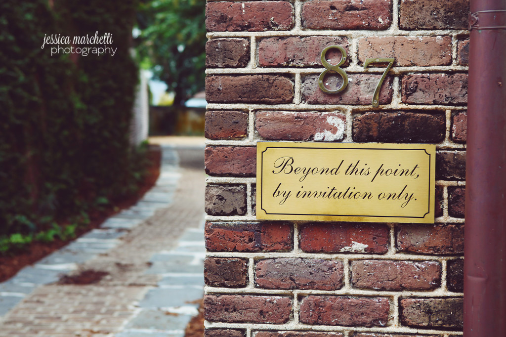 By Invitation Only Wall Sign