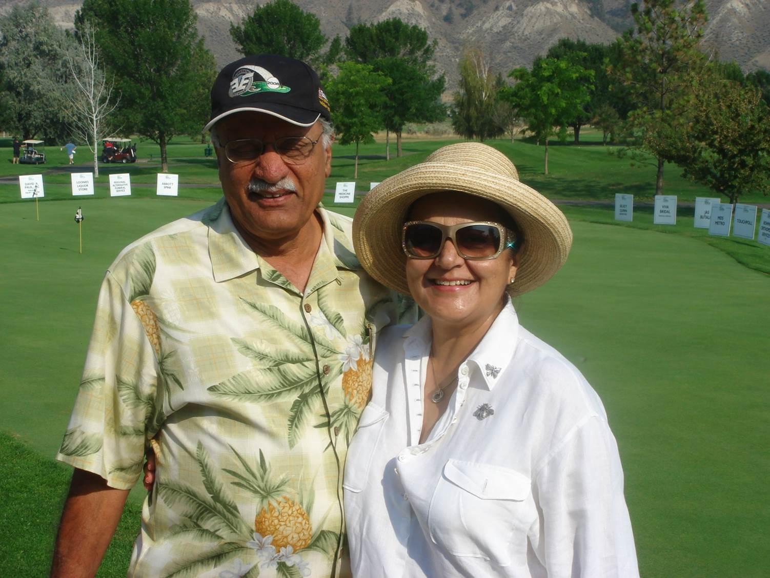Dr. Gur and Manju Singh.