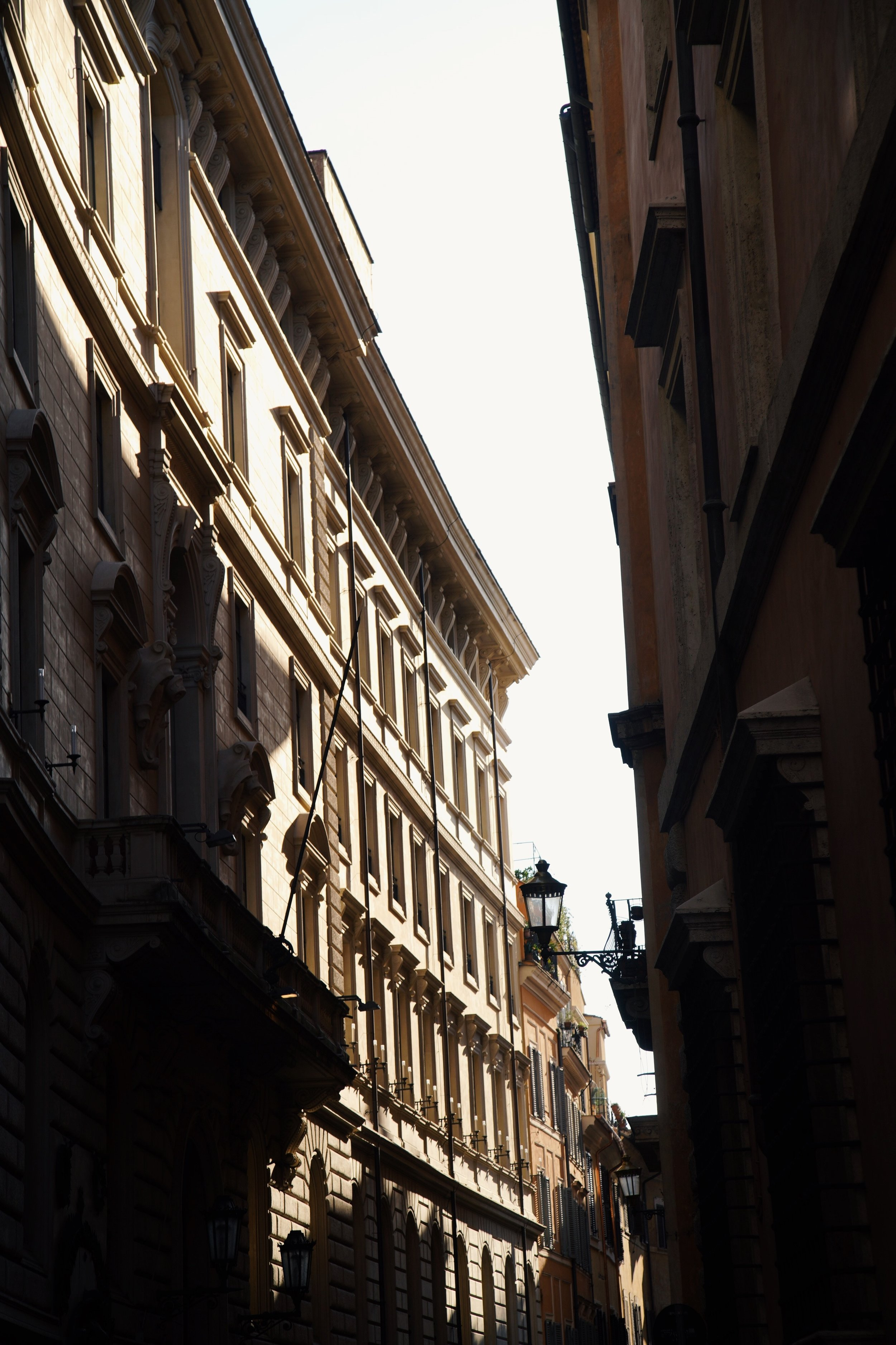 A beautiful narrow street in Milan