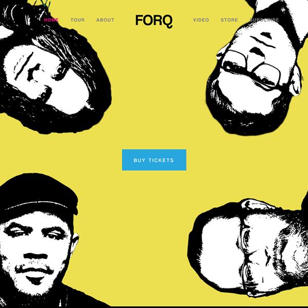 Forq (music website) -