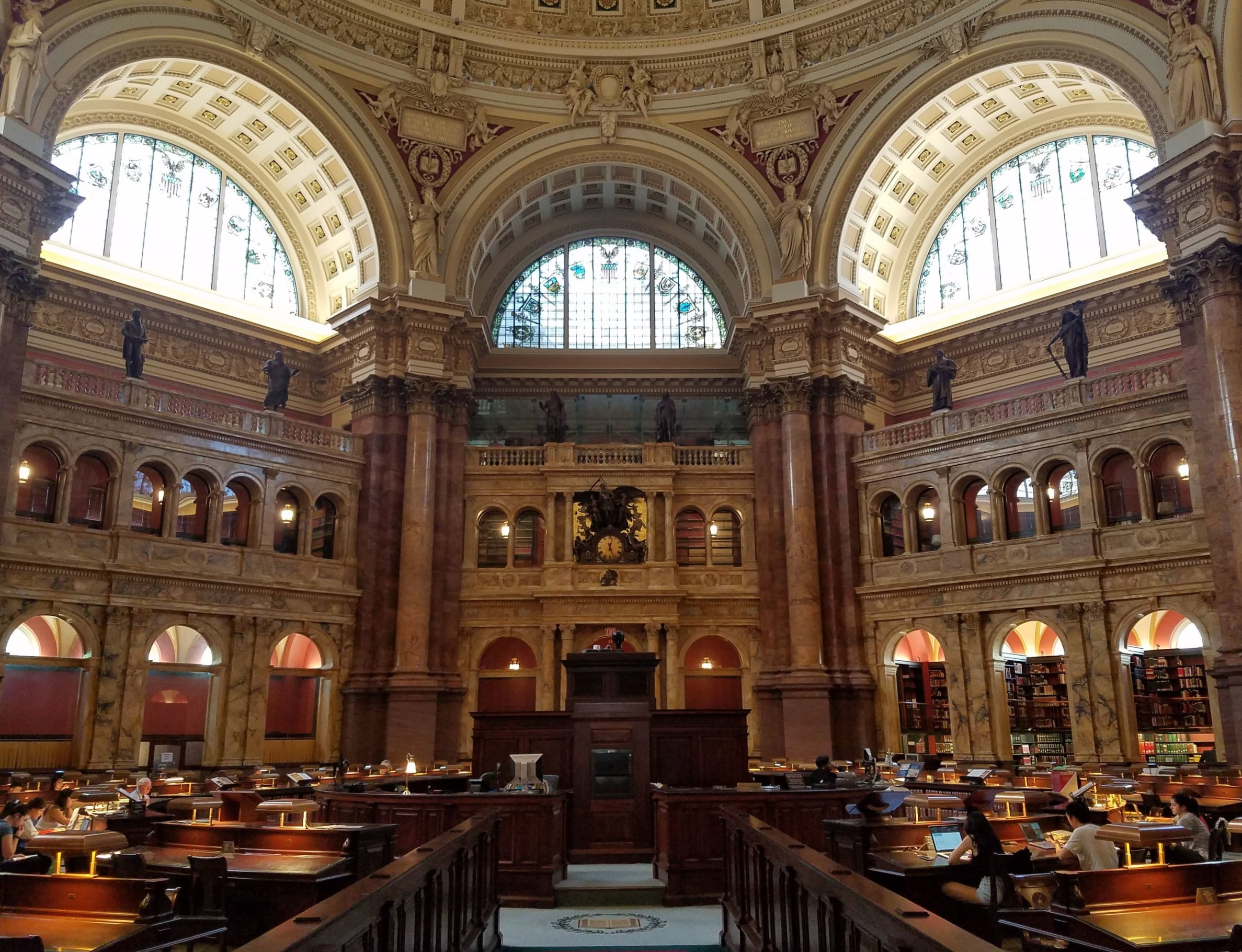 The amazing main reading room.