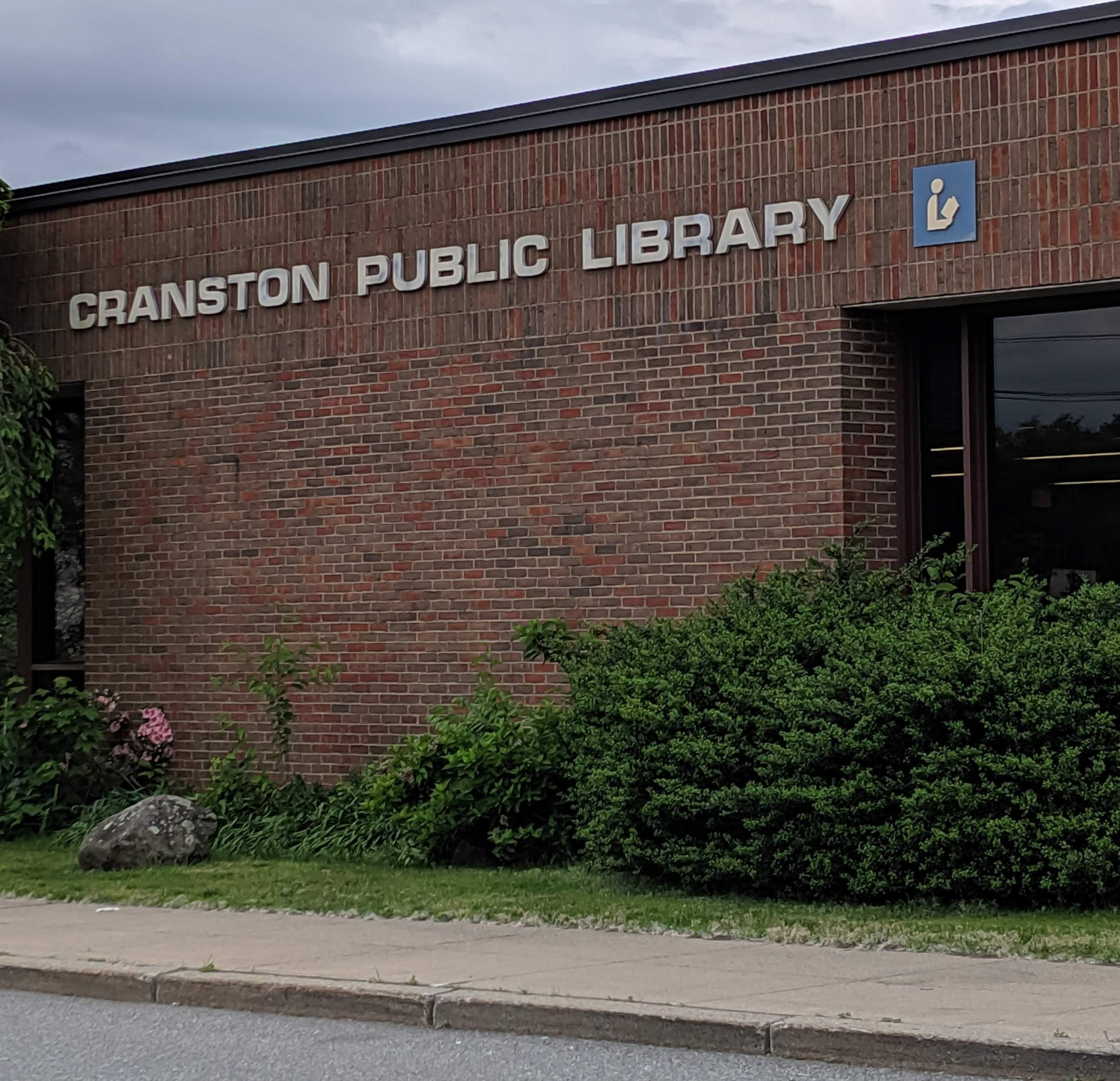 Cranston, a very traditional library.