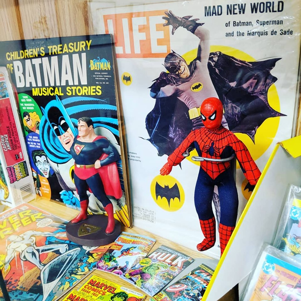From a very cool superhero display in Tyngsboro.
