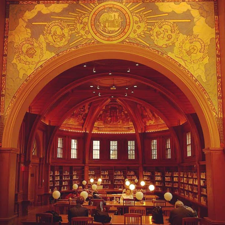 The Cambridge Library is full of amazing spaces.