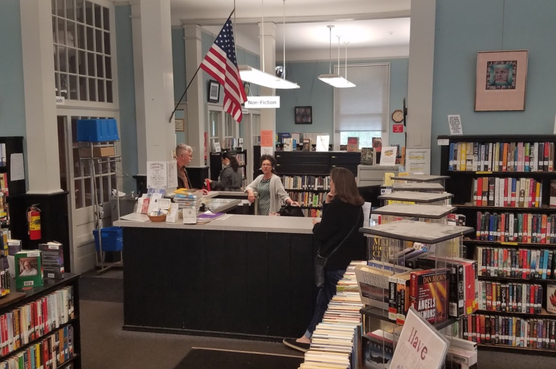 The Freehold Public Library, Freehold, NJ — Library Land