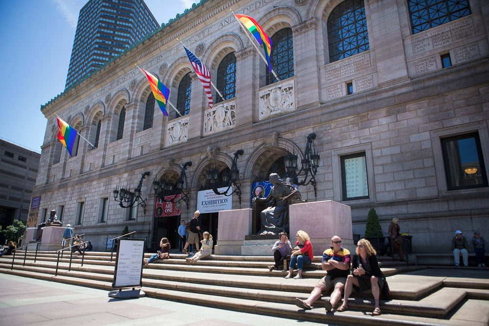 The Boston Public Library as seen in June 2015. (Jesse Costa/WBUR)
