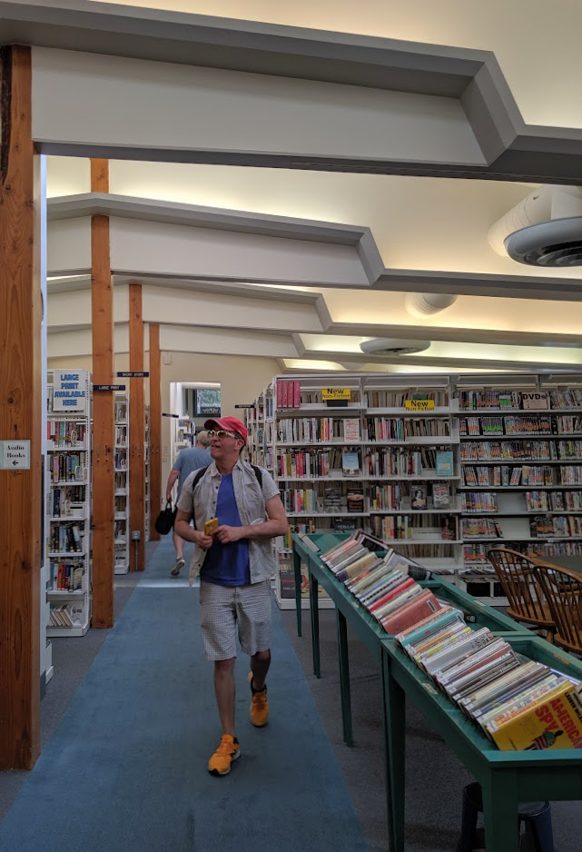 Exploring the Library.