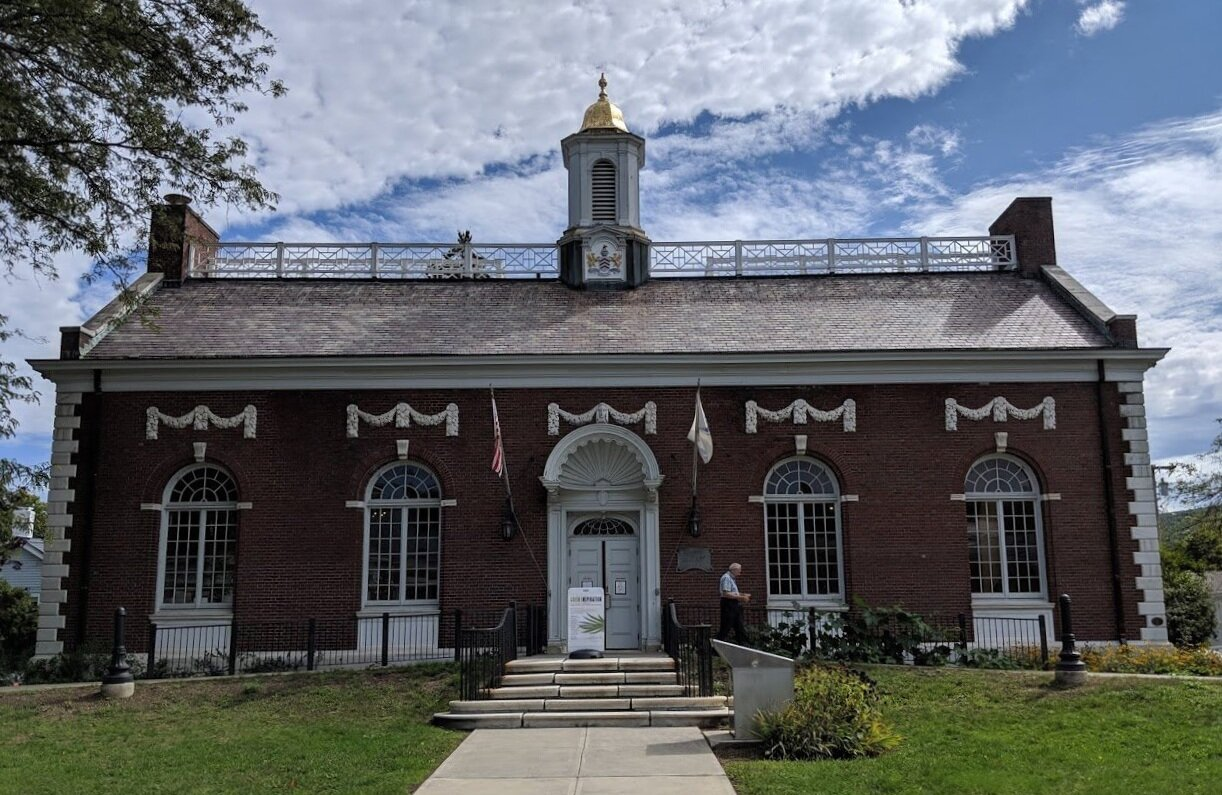 The Mason Library in Great Barrington.