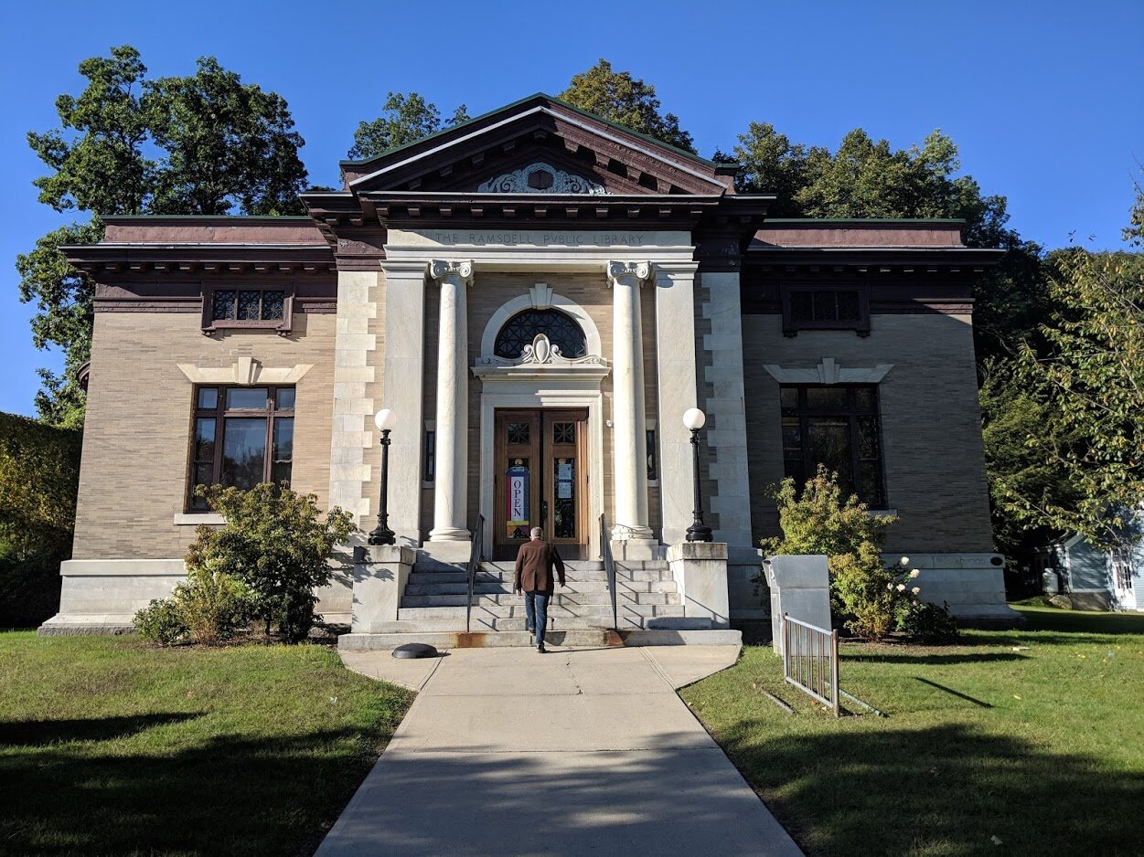 Don't be fooled, the Ramsdell library may look like a Carnegie but it's not.