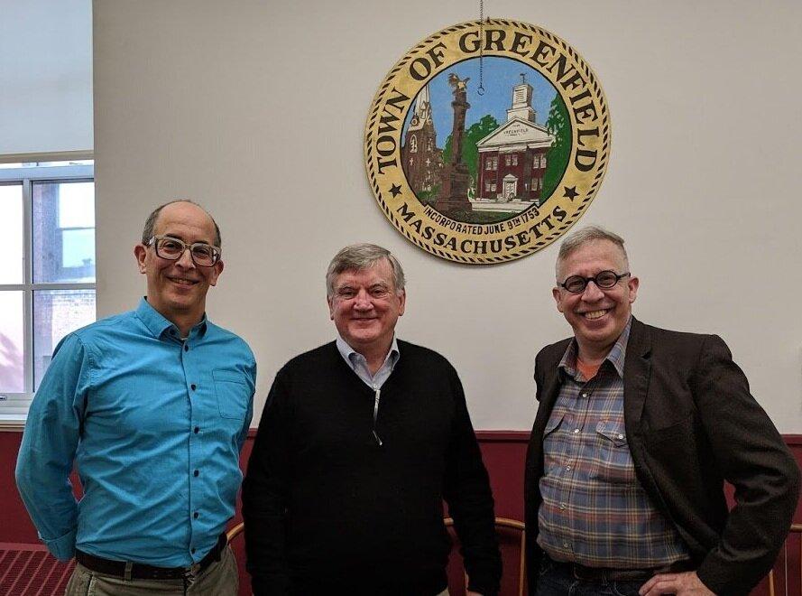It was an honor to meet Mayor Martin.