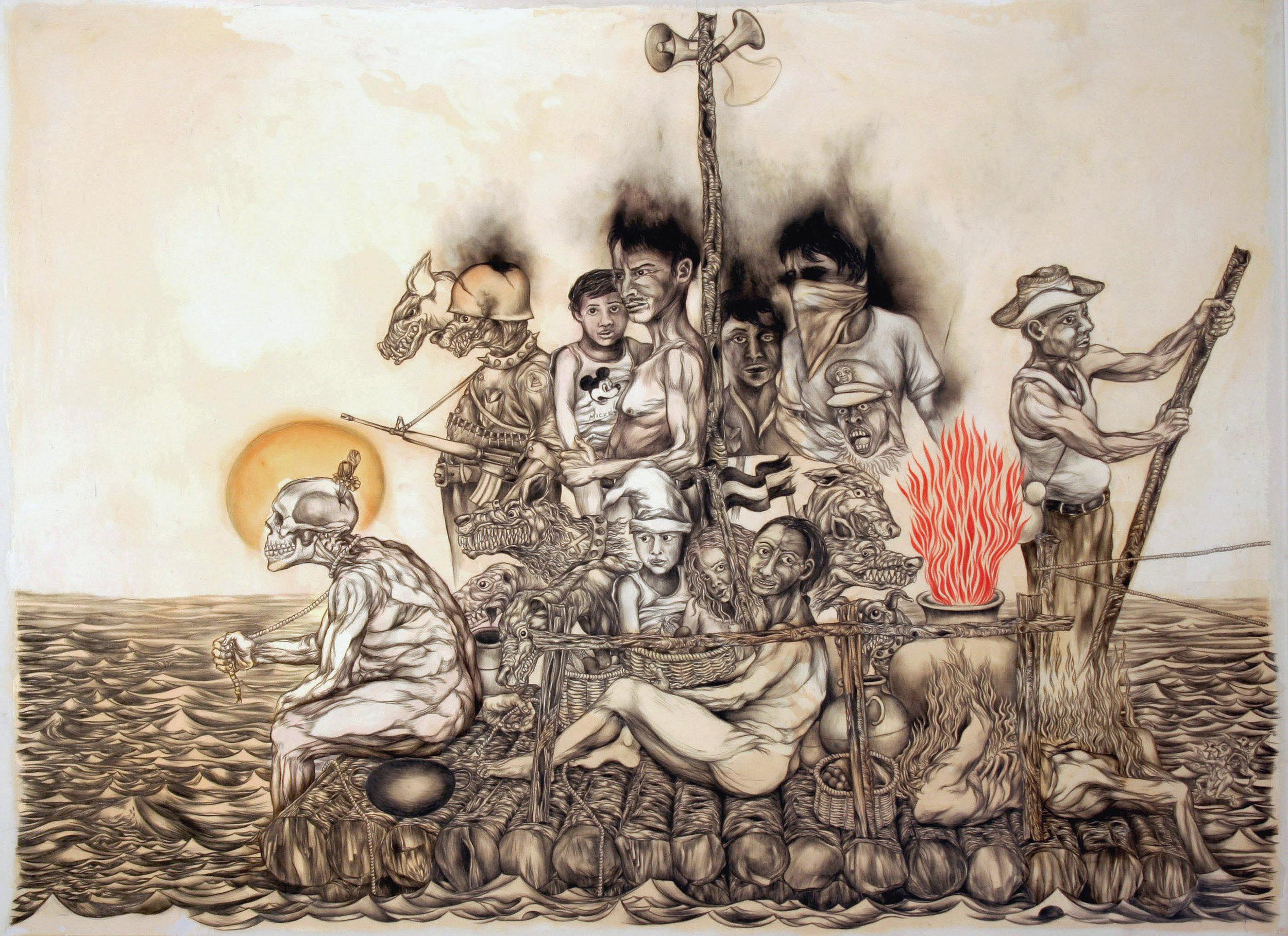 La Raza  por  Osvaldo Ramírez Castillo