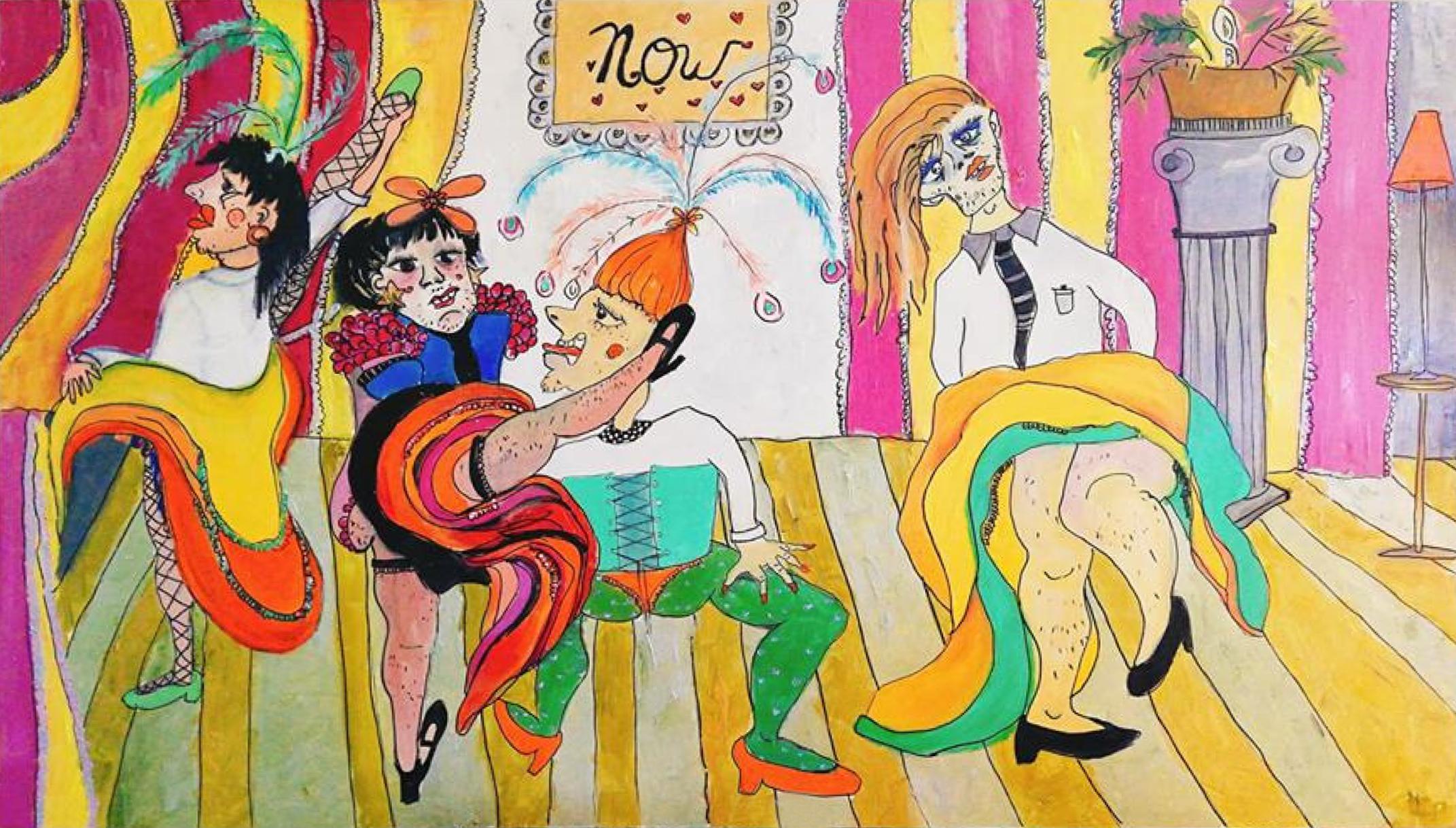 Circo erótico  por  Natalia Domínguez