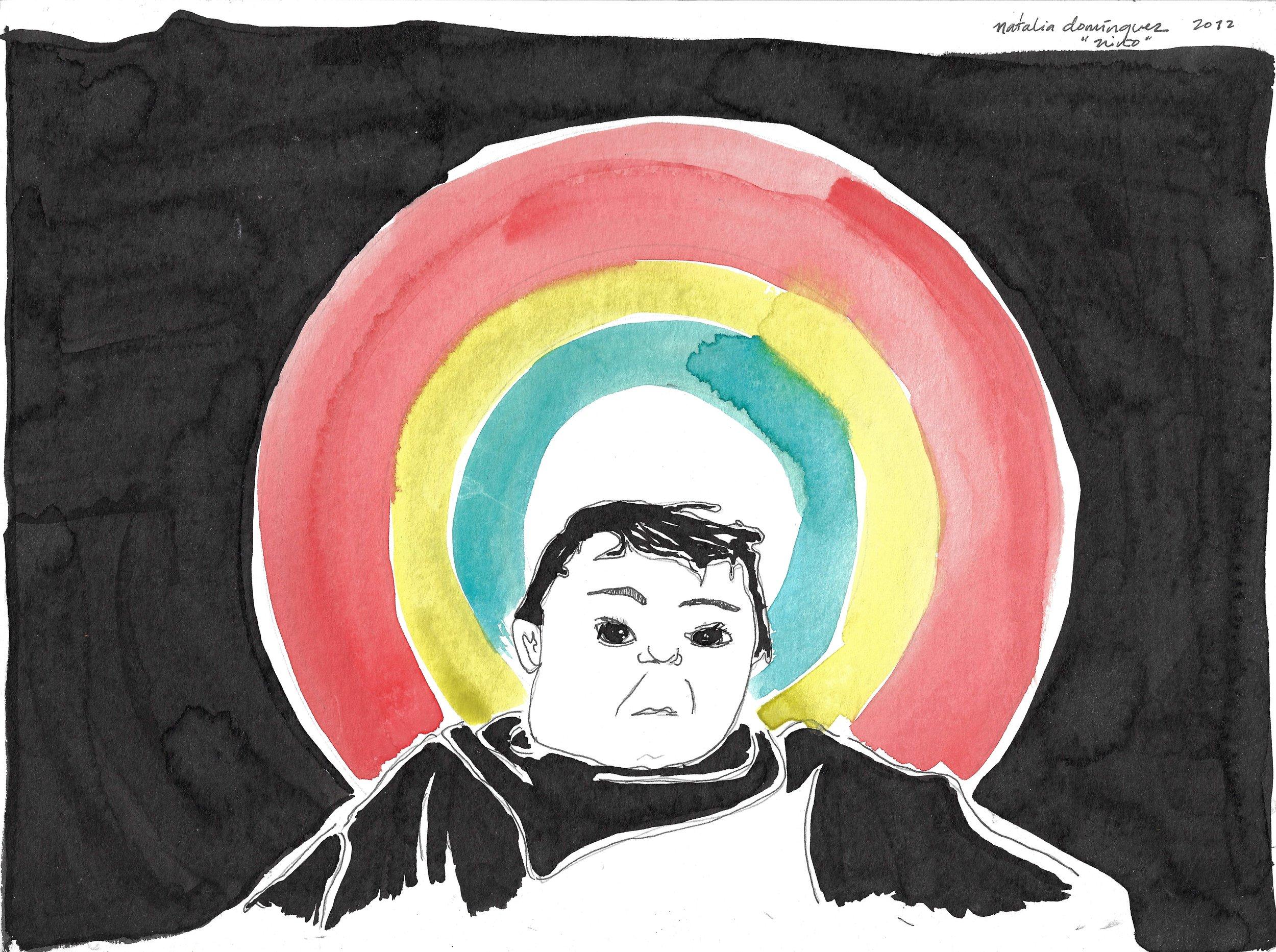 Niño santo o mi amor por ti  por  Natalia Domínguez