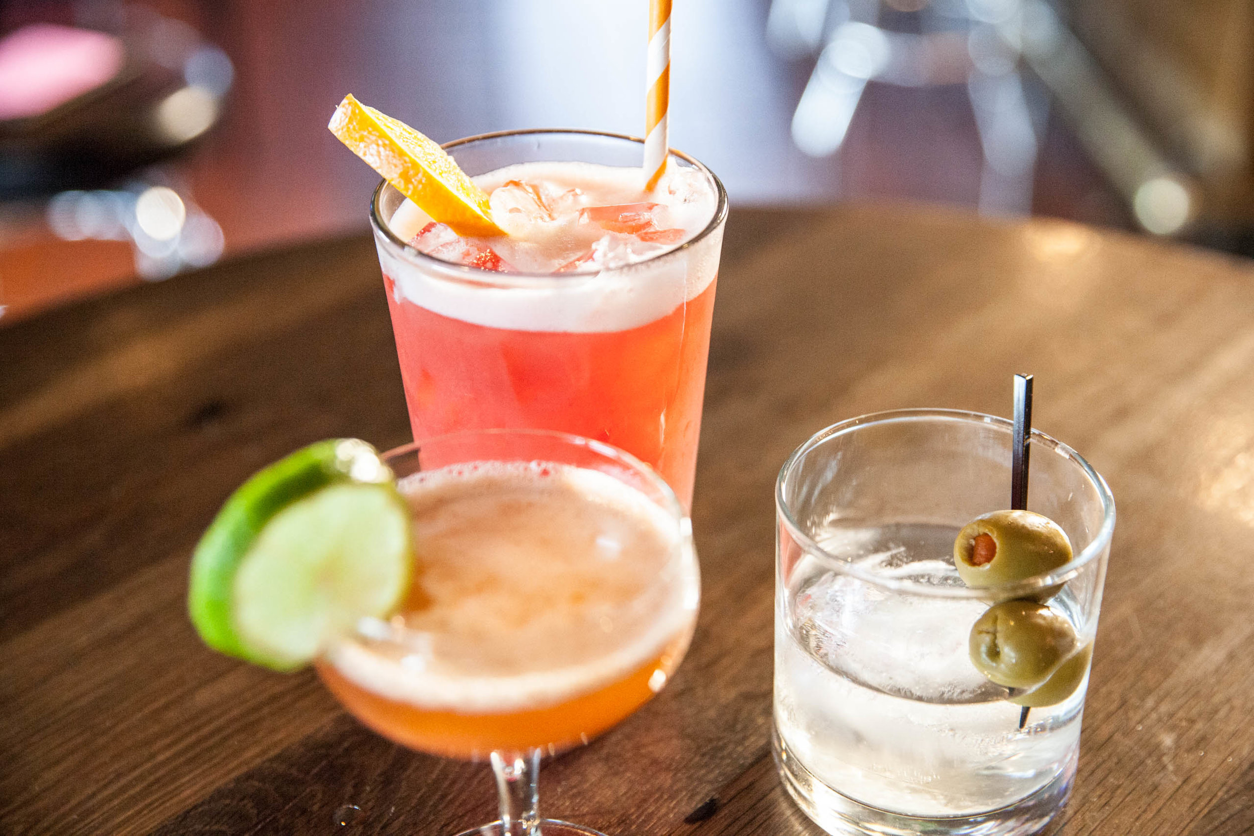 Drinks - Whether you're looking for an old standard or something entirely new, our craft cocktails and local beers never disappoint.