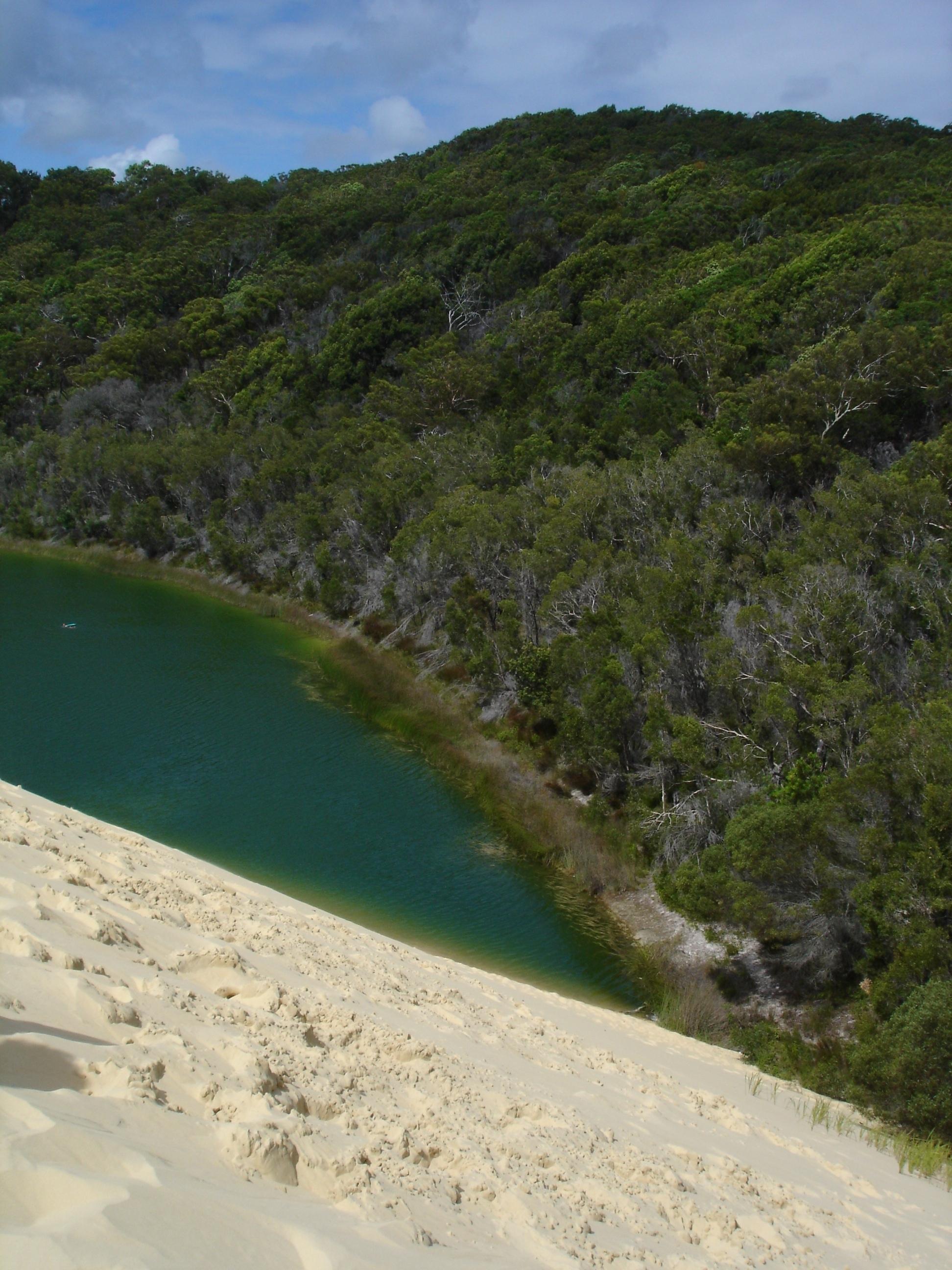 Lake Wabby - Fraser Island