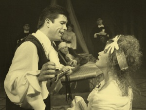 Kelland Lindsey and Leslie Law in the original production at The Bathhouse Theater in Seattle, Washington