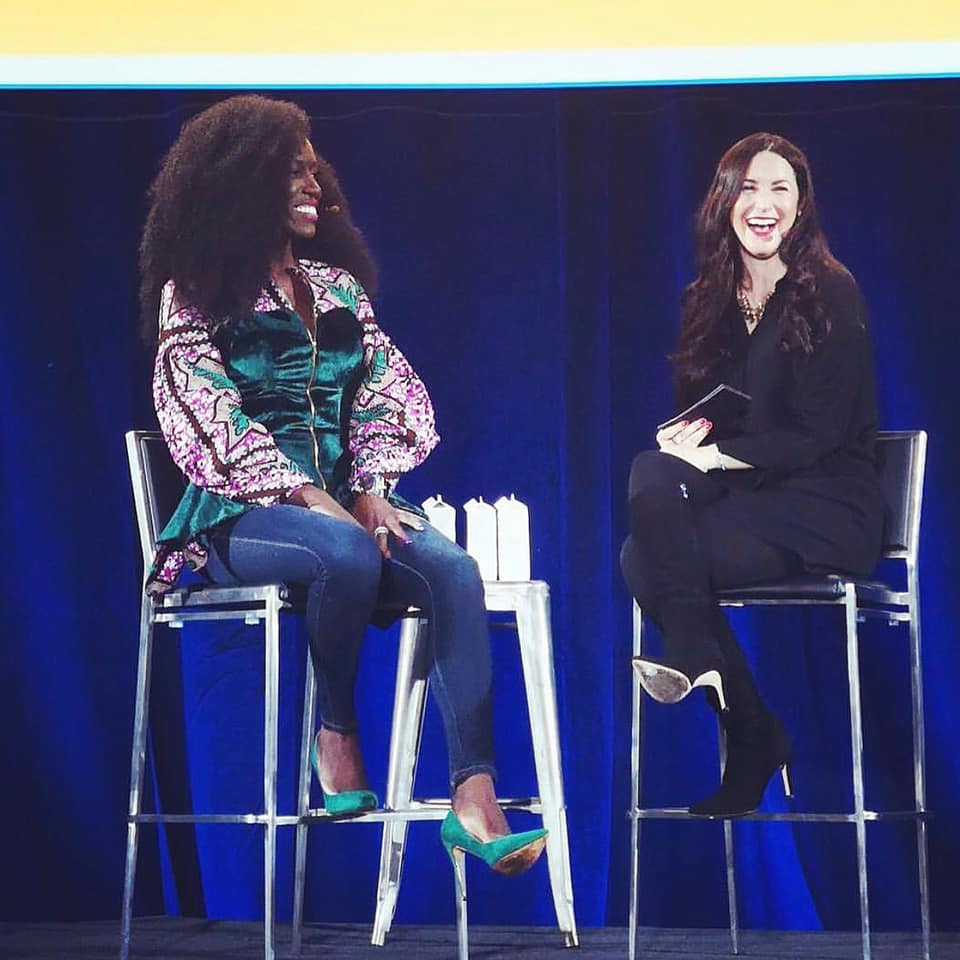 Interviewing CMO Bozoma Saint John at the WeWork Global Summit in LA