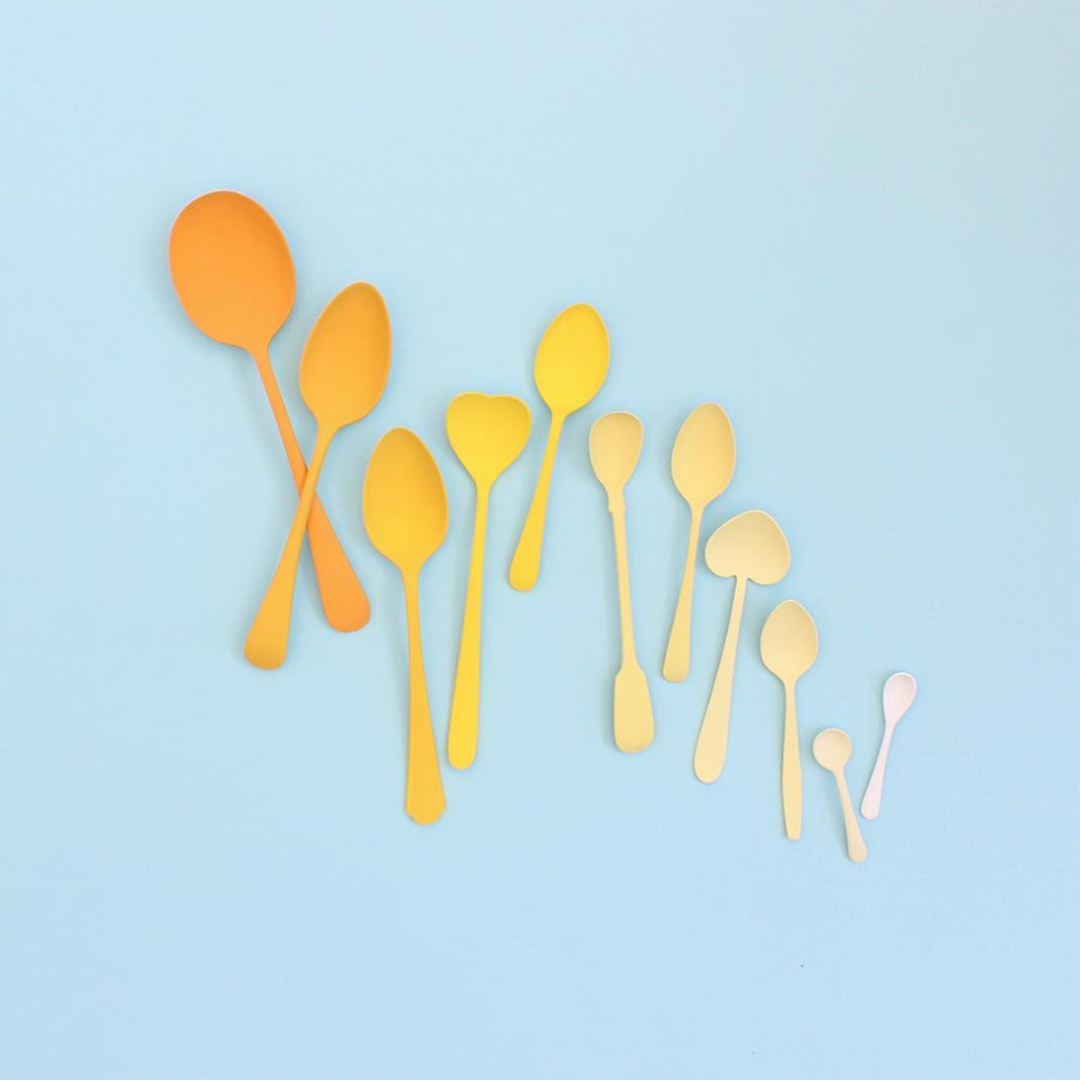 Masters of Instagram Content Creation: Caroline South | yellow spoons