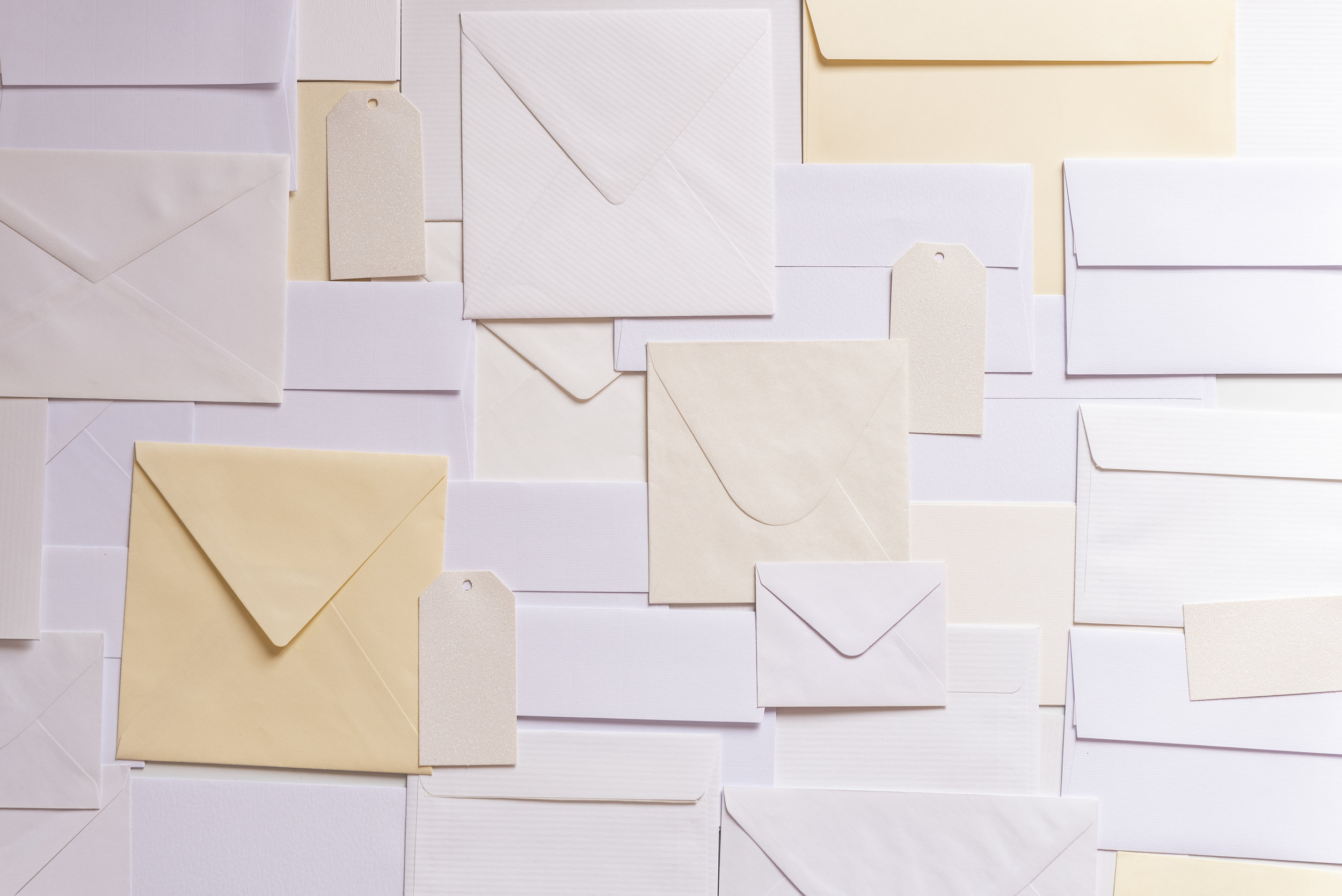 You've got mail - Join one of our contributor mailing lists to get opportunities in your inbox!