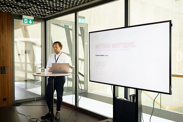For the final keynote to close the summer school, Christian Veddler from @unstudio_architecture presented Motion Matters: Systems Thinking in Architecture through three main projects - the Mercedes-Benz Museum, Arnhem Central Station and Singapore University of Technology and Design.  #humarch2019 #summerschool #systems #architecture #motionmatters