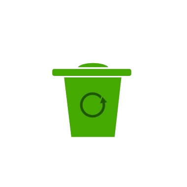 Recycling - Waste is separated appropriately with bins onsite for recycling paper, glass, plastics, and cans.