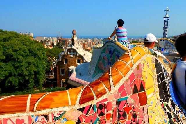 Barcelona - Explore Gaudi's Masterpieces and visit the famous Park Guell, La Sagrada Familia, and L'Eixample.